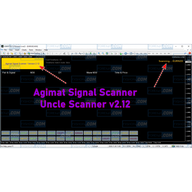 Agimat Signal Scanner / Uncle Scanner v2.12 METAGRID - 1